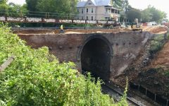 Historic Macon railroad viaduct demolished but won't be forgotten