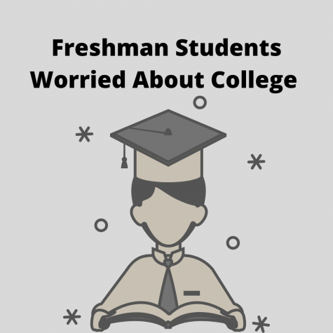 Freshman Students Worried About College