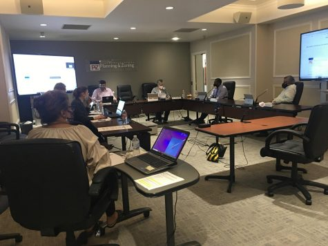 Macon-Bibb County Planning and Zoning Commissioners met Monday at Terminal Station.