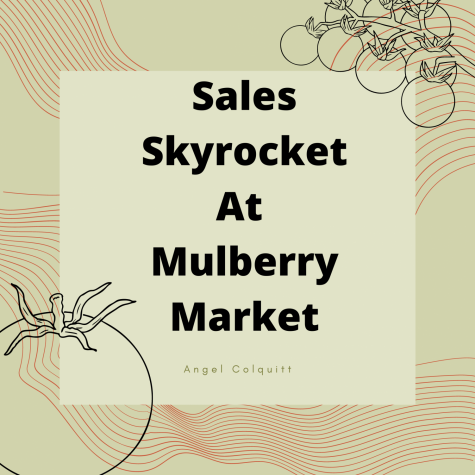 Sales Skyrocket at Mulberry Market