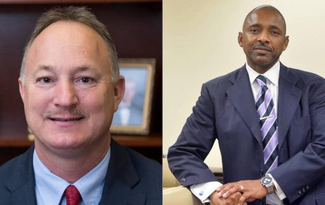 Cliffard Whitby, right, and Lester Miller, left, are in the August 11 runoff election for mayor of Macon-Bibb County.