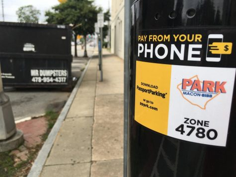 Changes coming to downtown Macon parking meters