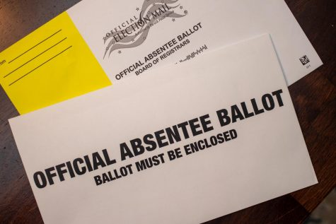 The last day to request an absentee ballot in Georgia