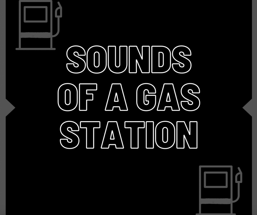 Sounds of a gas station