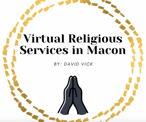 Virtual church services in Macon