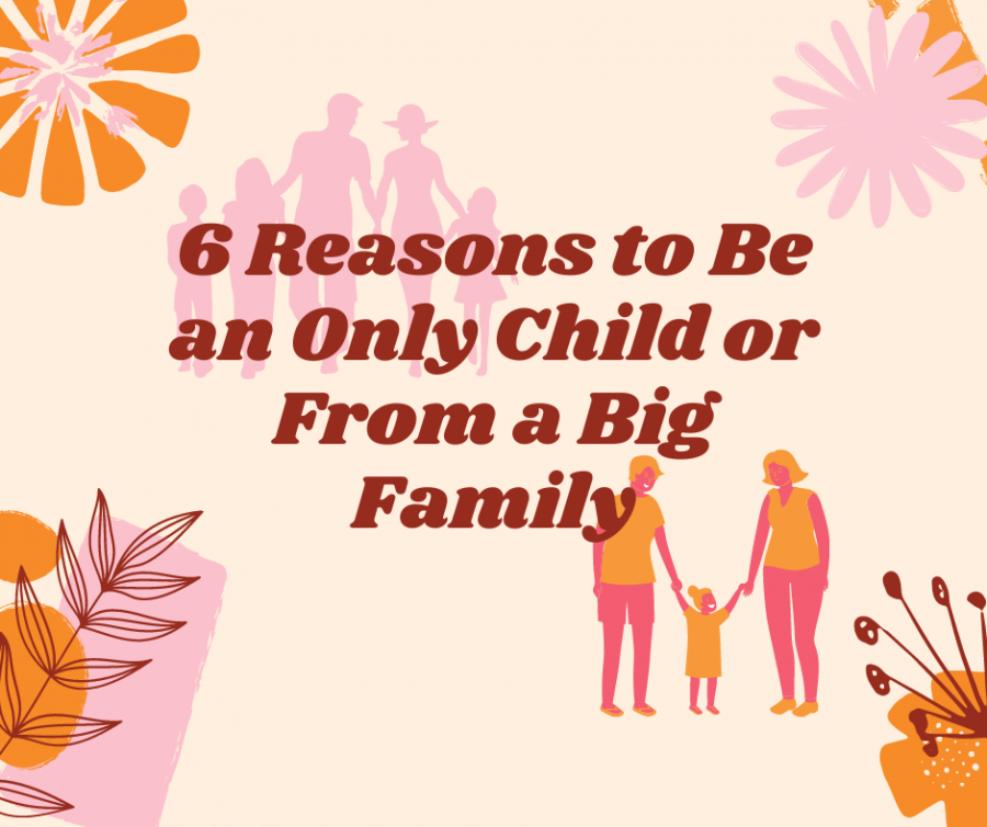 6 Reasons to be an only child or from a big family