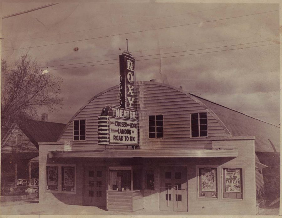 The old Roxy Theatre could be a hub of activity again when its parking lot   houses food trucks and a pedestrian plaza in a renaissance of the old Greenwood Bottoms Black business district near Downtown Macon.