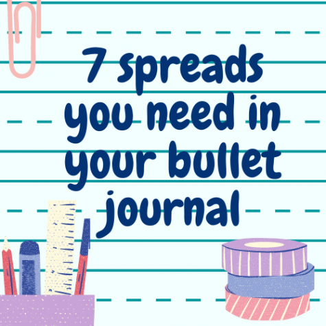 7 spreads you need in your bullet journal