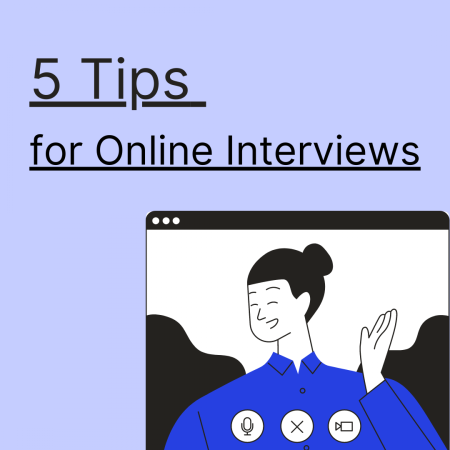 5 Tips for online interviews