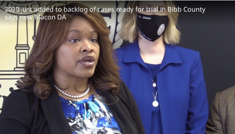 Bibb County criminal cases were already backlogged prior to the pandemic new Macon Judicial Circuit Anita Reynolds Howard said during a recent press conference.