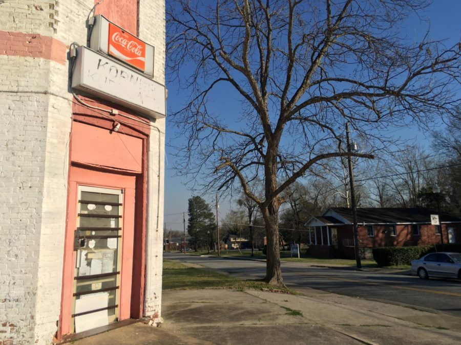 The pastor of the Power of God Church at 960 Hazel St. was one of several people speaking out against a restaurant serving wine and beer in Beall's Hill.