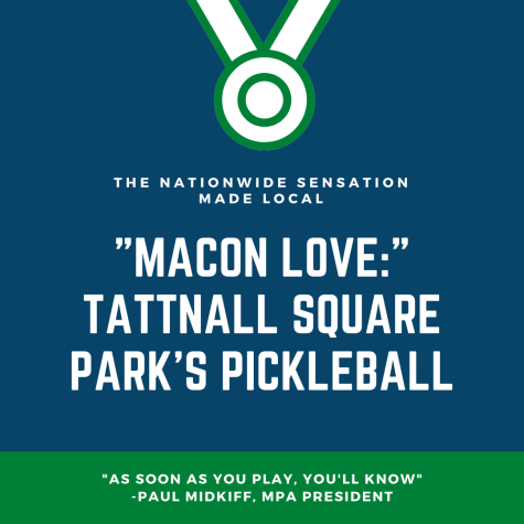 """Macon Love:"" Pickleball in Tattnall Square Park"