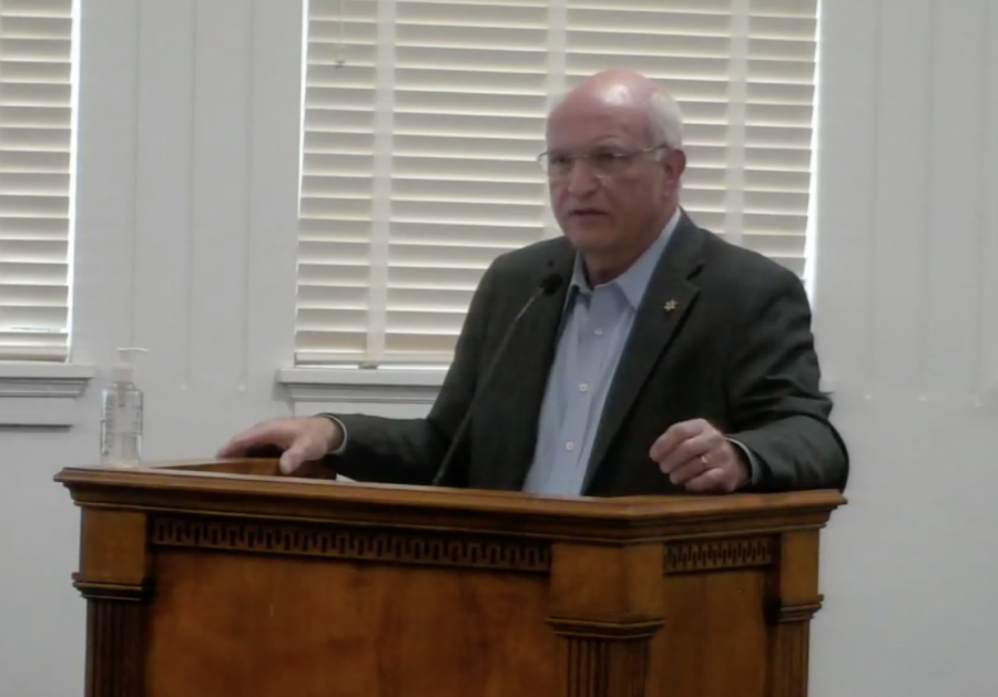 Bibb County Sheriff David Davis denies jail overcrowding after a photo circulated on social media.