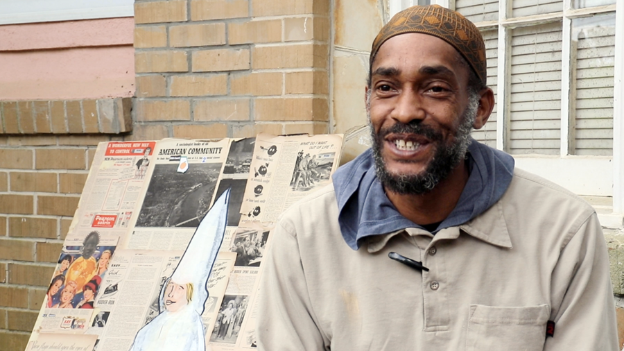 Macon artist Charvis Harrell shares how social justice is reflected in his work