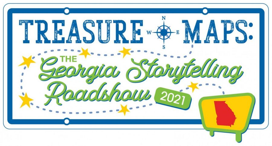 Treasure Maps: The Georgia Storytelling Roadshow will visit Macon this Saturday. (Graphic courtesy of Georgia Storytelling Roadshow.)