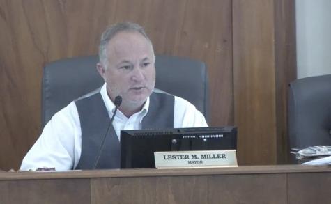 Mayor Lester Miller said it