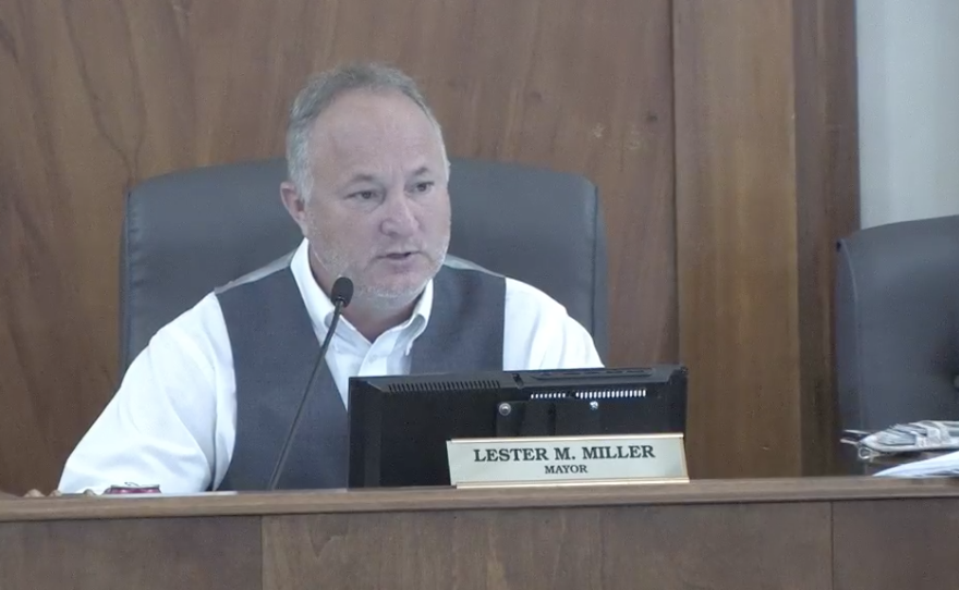 Mayor Lester Miller said it's an insult to say the Brookdale homeless center is only a