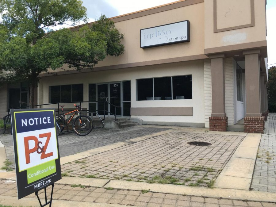 Macon-Bibb County Planning and Zoning commissioners will consider a 90-seat, dine-in movie theatre with beer garden on Linden Avenue in Mercer Village.