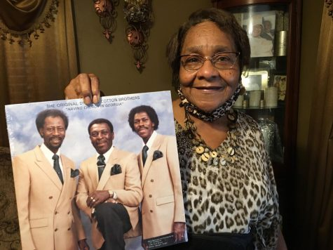 """Bernice """"Queen Bee"""" Cotton sees the Sept. 18 concert at City Auditorium as the 'final chapter' for the gospel singing Cotton Brothers Otis Redding helped make famous."""