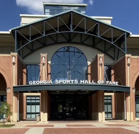 Entrance of the Georgia Sports Hall Of Fame.