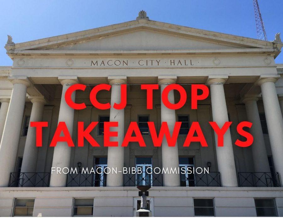 CCJ Top Takeaways: Macon-Bibb commission meeting